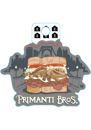 Pittsburgh Primanti Bros. Sandwich Skyline Stickers