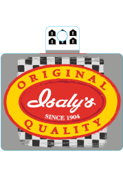 Pittsburgh Isalys Logo Stickers