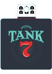 Kansas City Boulevard Tank 7 Stickers