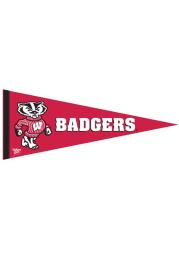 Wisconsin Badgers 12x30 Premium Pennant