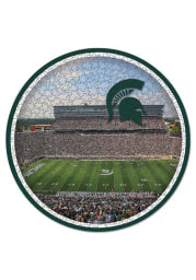 Michigan State Spartans 500 Piece Circular Puzzle