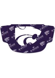 K-State Wildcats Repeat Logo Fan Mask