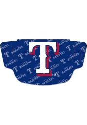 Texas Rangers Repeat Logo Fan Mask