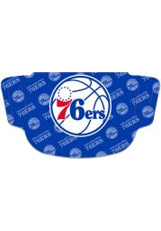 Philadelphia 76ers Repeat Logo Fan Mask