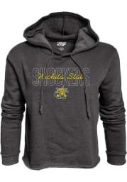 Wichita State Shockers Womens Black Cassie Hooded Sweatshirt