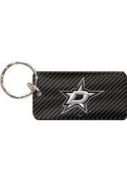 Dallas Stars Carbon Keychain