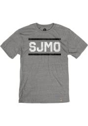 St. Joe Heather Grey SJMO Block and Bars Short Sleeve T-Shirt