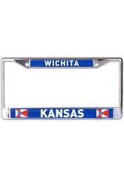 Wichita Flag Printed License Frame