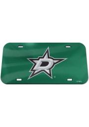 Dallas Stars Team Color Acrylic Car Accessory License Plate