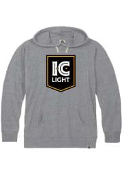 Pittsburgh Brewing Heather Grey IC Light Long Sleeve Lightweight Hoodie