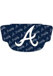 Atlanta Braves Repeat Logo Fan Mask