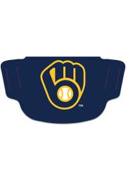 Milwaukee Brewers Team Logo Fan Mask