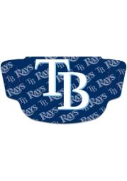 Tampa Bay Rays Repeat Logo Fan Mask