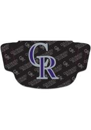 Colorado Rockies Repeat Logo Fan Mask