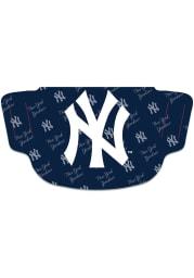 New York Yankees Repeat Logo Fan Mask