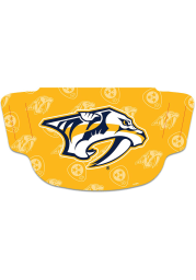 Nashville Predators Repeat Logo Fan Mask