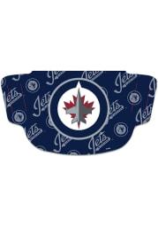 Winnipeg Jets Repeat Logo Fan Mask