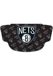 Brooklyn Nets Repeat Logo Fan Mask