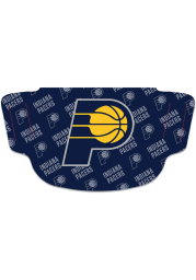 Indiana Pacers Repeat Logo Fan Mask