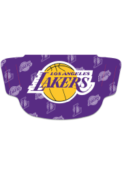Los Angeles Lakers Repeat Logo Fan Mask