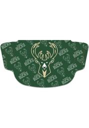 Milwaukee Bucks Repeat Logo Fan Mask