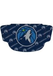 Minnesota Timberwolves Repeat Logo Fan Mask