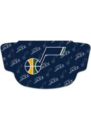 Utah Jazz Repeat Logo Fan Mask