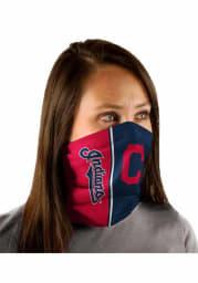 Cleveland Indians Split Color Fan Mask
