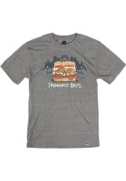 Primanti Bros. Heather Grey Sandwich Skyline Short Sleeve T-Shirt
