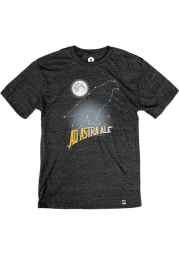 Free State Brewing Co. Ad Astra Constellation Heather Black Short Sleeve T-Shirt