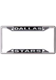 Dallas Stars Black and Silver License Frame