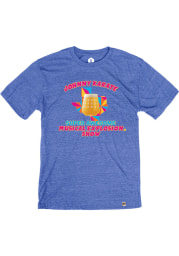 Turning Point Brewery Heather Royal Johnny Karate Short Sleeve T-Shirt