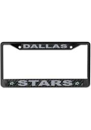 Dallas Stars Carbon Fiber License Frame