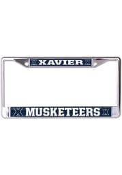 Xavier Musketeers Mega Logo License Frame