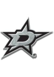 Dallas Stars Chrome Car Emblem - Silver