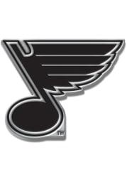 St Louis Blues Chrome Car Emblem - Silver