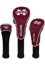 Mississippi State Bulldogs 3 Pack Golf Headcover