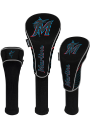 Miami Marlins 3 Pack Golf Headcover