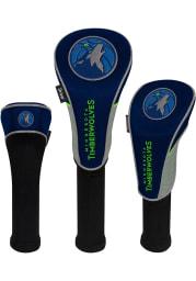 Minnesota Timberwolves 3 Pack Golf Headcover