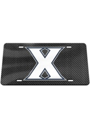 Xavier Musketeers Carbon Fiber Car Accessory License Plate