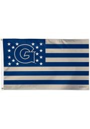 Georgetown Hoyas 3x5 Star Stripes Blue Silk Screen Grommet Flag