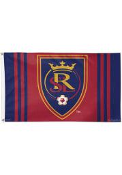 Real Salt Lake 3x5 Red Silk Screen Grommet Flag