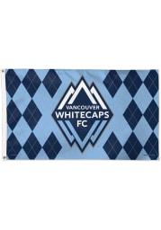 Vancouver Whitecaps FC 3x5 Navy Blue Silk Screen Grommet Flag
