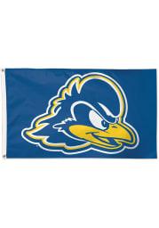 Delaware Fightin' Blue Hens 3x5 Blue Silk Screen Grommet Flag