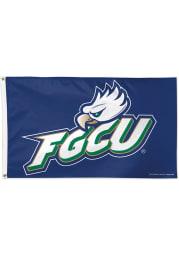 Florida Gulf Coast Eagles 3x5 Green Silk Screen Grommet Flag