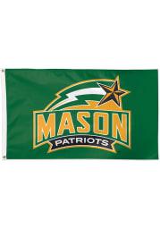 George Mason University 3x5 Green Silk Screen Grommet Flag