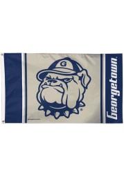 Georgetown Hoyas 3x5 Blue Silk Screen Grommet Flag