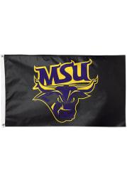 Minnesota State Mavericks 3x5 Purple Silk Screen Grommet Flag