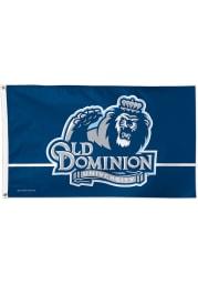 Old Dominion Monarchs 3x5 Blue Silk Screen Grommet Flag