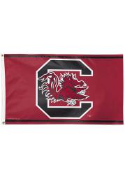 South Carolina Gamecocks 3x5 Red Silk Screen Grommet Flag